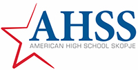 American High School Skopje logo